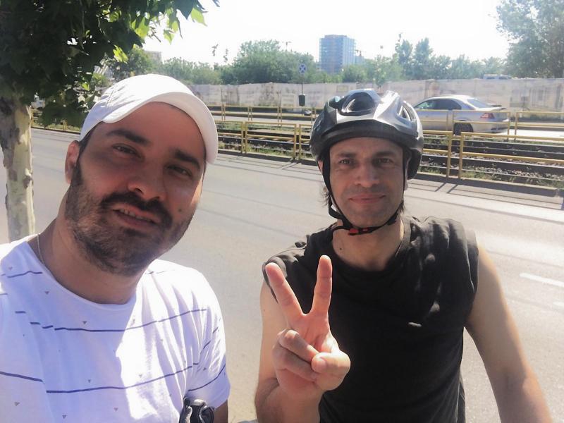 Dănuț Sorescu și Marcel Eremia