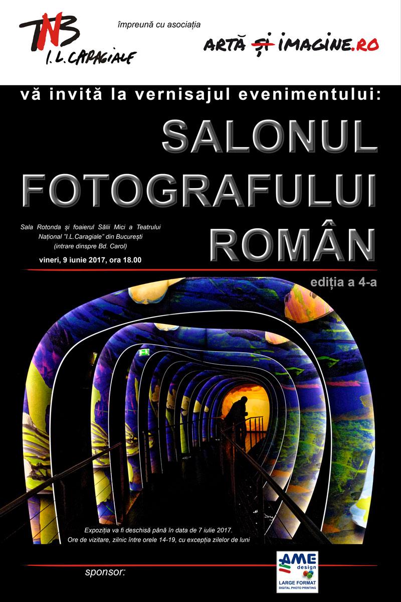 Invitație la vernisajul celei de a IV-a ediții a Salonului Fotografului Român