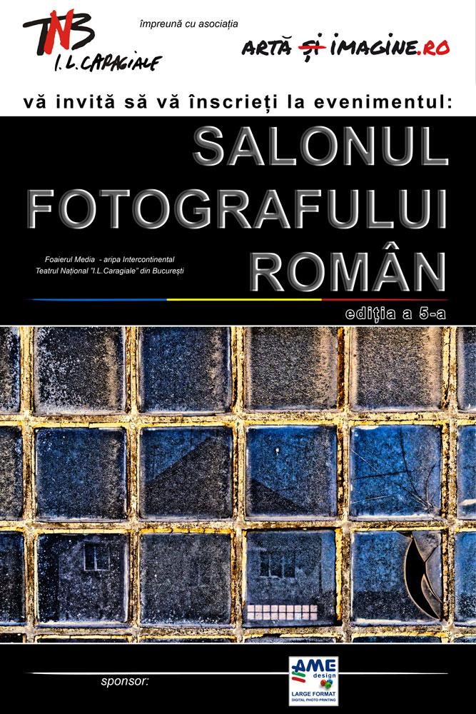 Invitație de înscriere la Salonul Fotografului Român ediția a 5-a